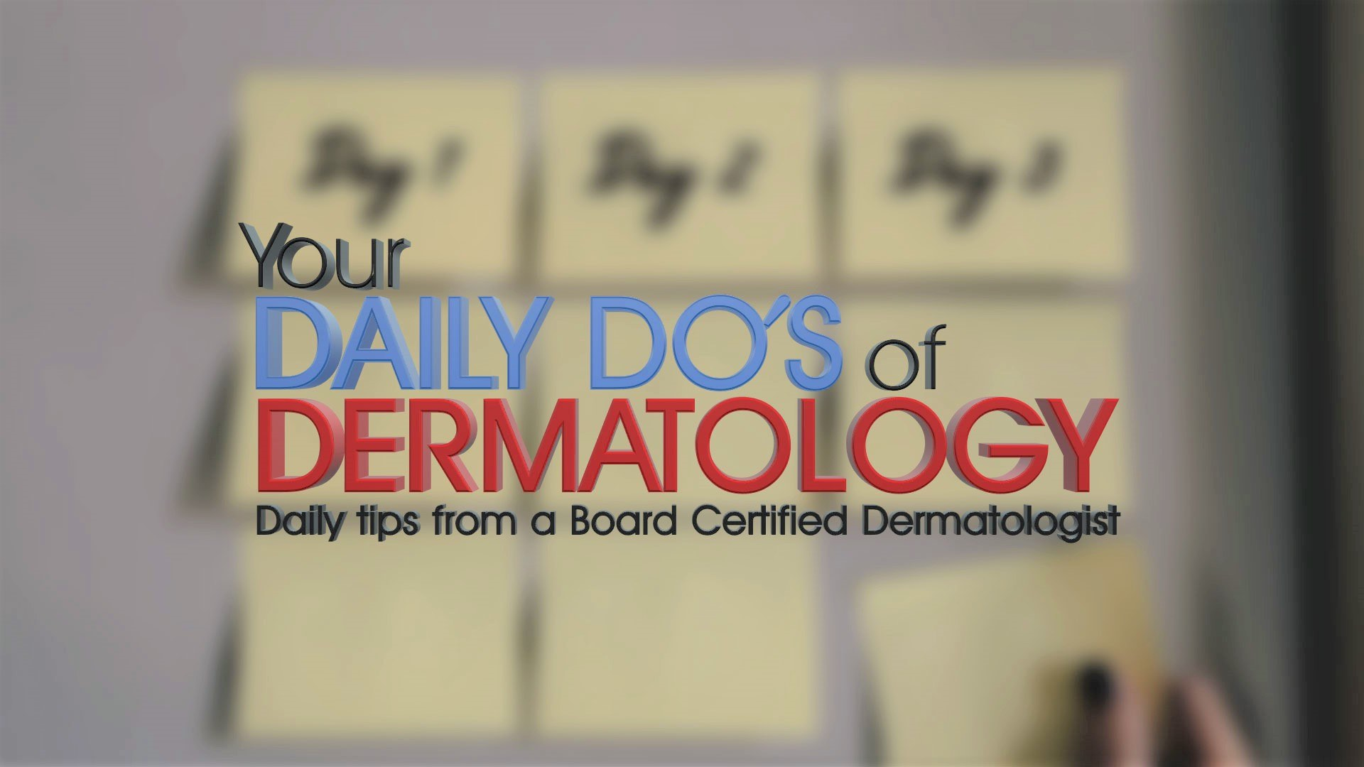 Daily Do of Dermatology - Title