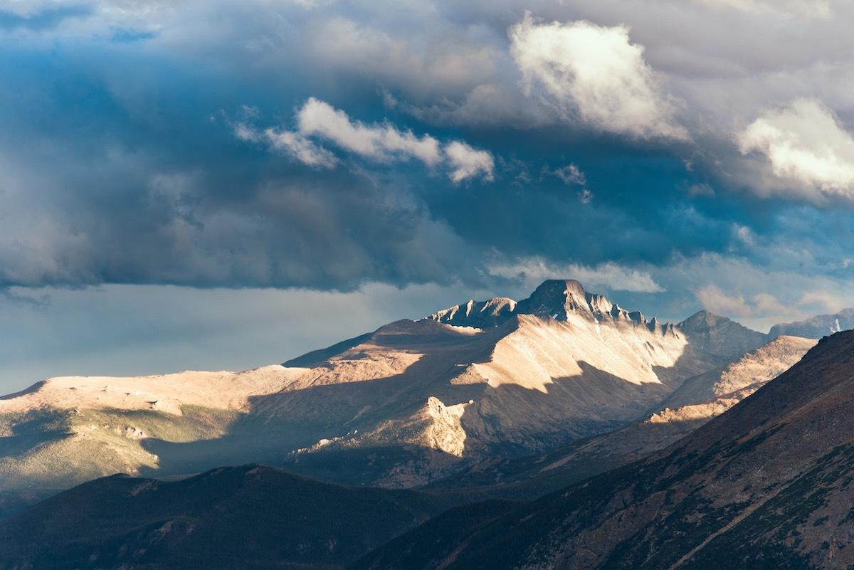 Estes Park - Rocky Mountains Snow Capped