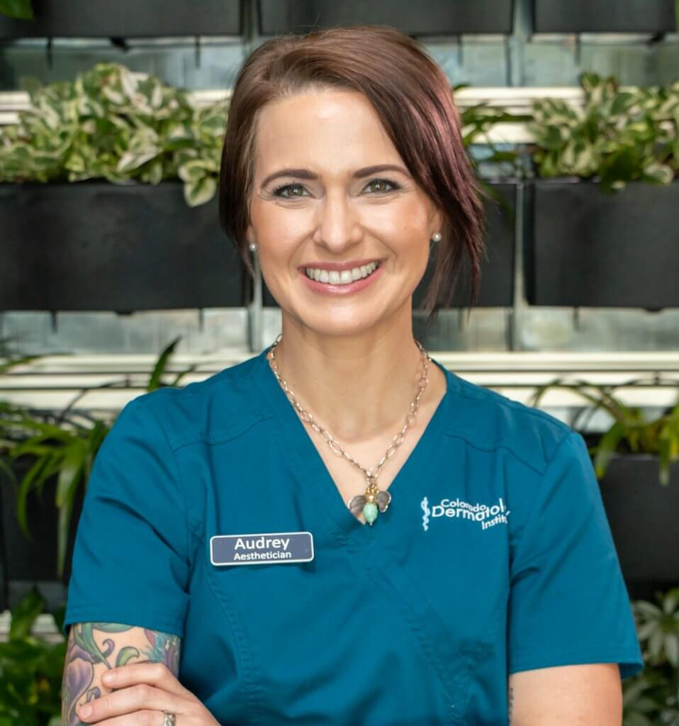 Audrey, Aesthetician and Massage Therapist